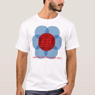 Camiseta Pensador híbrido: O padrão do amor
