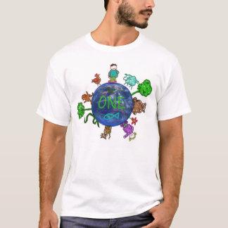 Camiseta Pensamento positivo de UM (uns mundo, de uma