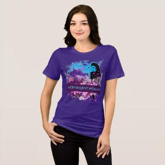 Camiseta Pensamentos profundos de uma mulher independente