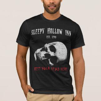 Camiseta pensão oca sonolento