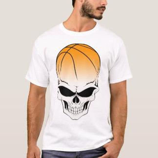 Camiseta pense a parte dianteira do basquetebol