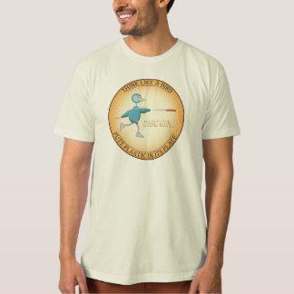 Camiseta Pense como um pássaro