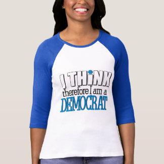 Camiseta Pense Democrata