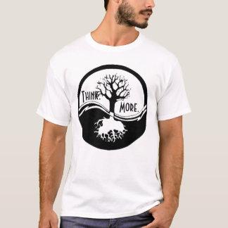Camiseta Pense. Mais