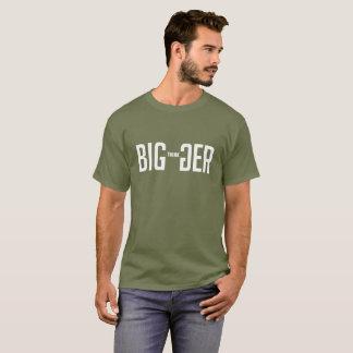 Camiseta Pense mais grande