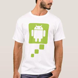 Camiseta Pense o Android