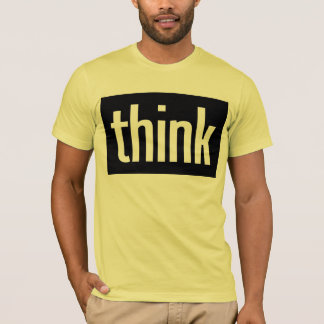 Camiseta Pense o t-shirt