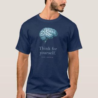 Camiseta Pense para o senhor mesmo transformam-se um