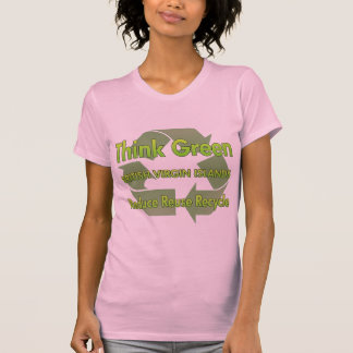 Camiseta Pense verde British Virgin Islands