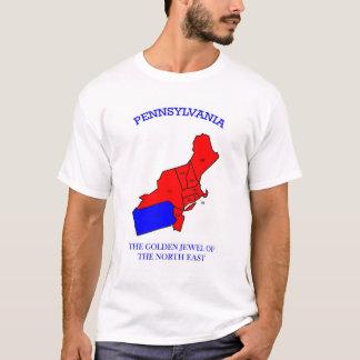 Camiseta Pensilvânia é a jóia dourada da costa leste