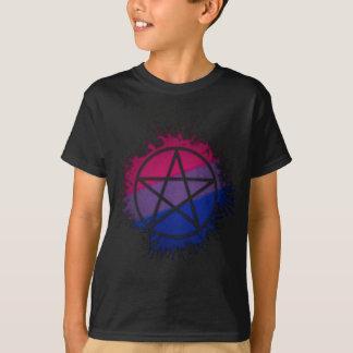 Camiseta Pentacle bissexual do orgulho