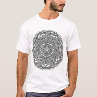 Camiseta Pentagram, Octagon e estrela sete aguçado