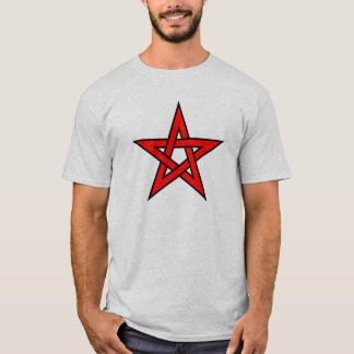 Camiseta Pentagram vermelho