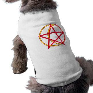 Camiseta Pentagramm lua pentagram moon