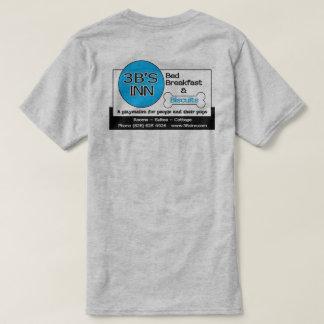 Camiseta pequeno almoço da cama da pensão 3B's e t-shirt