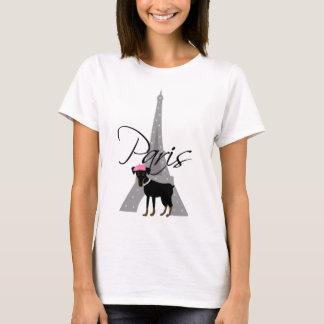 Camiseta Pequeno chien à Paris do Le