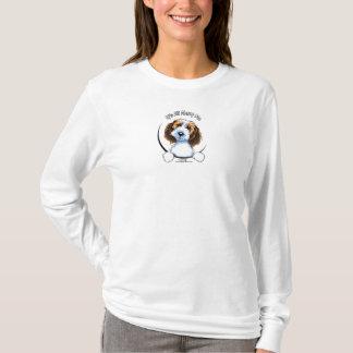 Camiseta Pequeno logotipo de Griffon Vendeen PBGV IAAM do