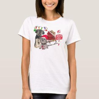 Camiseta Pequeno Pólo Norte de Griffon Vendeen do Basset