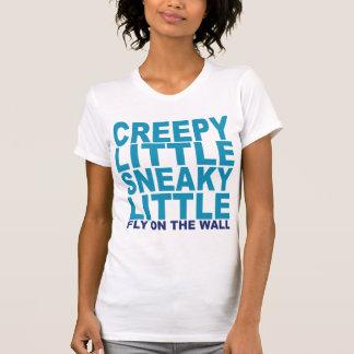 Camiseta Pequeno Sneaky pequeno assustador