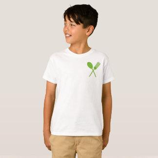 Camiseta Pequeno verde de Spork Foodie