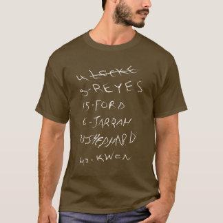 Camiseta PERDIDO - os candidatos