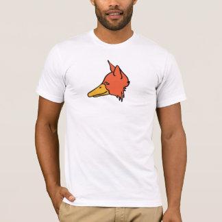 Camiseta Perfil da cor de DuckFox