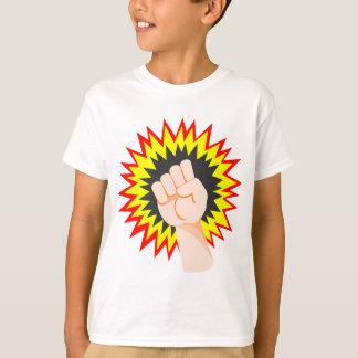 Camiseta Perfurador da energia do poder do braço da força