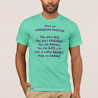 Camiseta Perguntas do Mastiff
