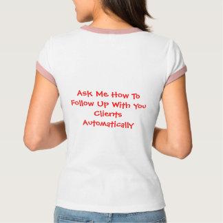 Camiseta Pergunte-me como seguir…