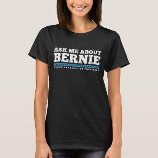 Camiseta Pergunte-me sobre máquinas de lixar de Benie
