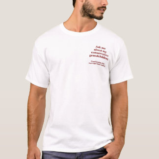 Camiseta Pergunte-me sobre meus netos conservadores