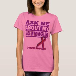 Camiseta Pergunte-me sobre minha Alice no país das