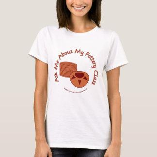 Camiseta Pergunte-me sobre minha classe da cerâmica
