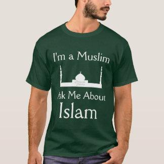 Camiseta Pergunte-me sobre o Islão