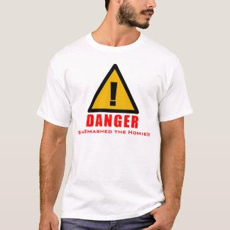 Camiseta Perigo! Despedaçou o Homie!