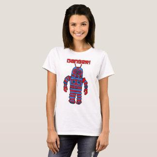 Camiseta Perigo do robô!