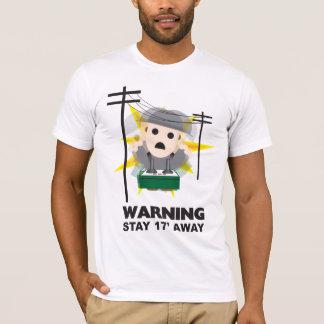 Camiseta Perigo - estada 17' afastado
