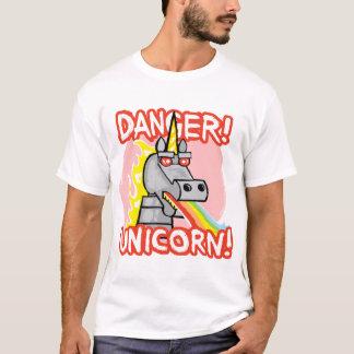 Camiseta Perigo! Unicórnio!