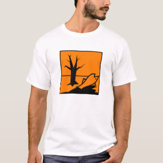 Camiseta Perigoso para o ambiente