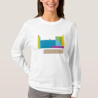 Camiseta periódico-mesa