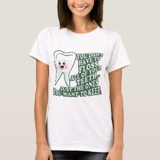 Camiseta Periodontist do Orthodontist do dentista