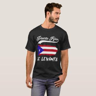 Camiseta Perito em software Levanta de Puerto Rico