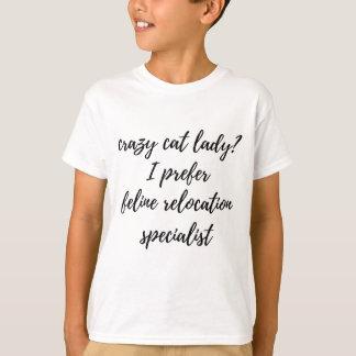 Camiseta Perito felino do internamento