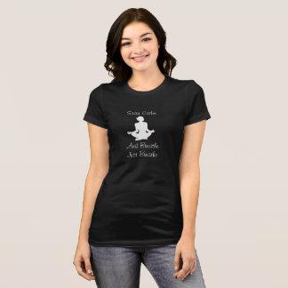Camiseta Permaneça a calma e respire -- T-shirt da ioga