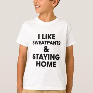 Camiseta Permanecendo a casa
