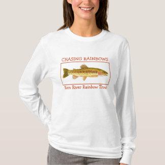 Camiseta Perseguindo arcos-íris