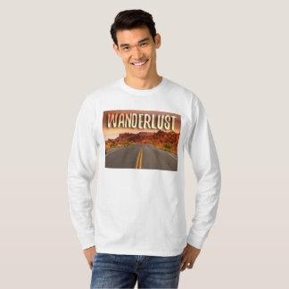 Camiseta Persiga a estrada/a camisola inspirada Wanderlust