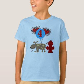 Camiseta Persiga o 4o aniversário