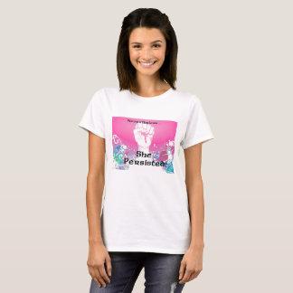 Camiseta Persistiu!