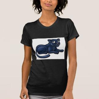 Camiseta Personagem de desenho animado da pantera preta